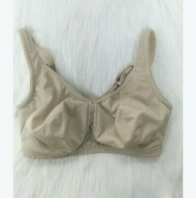 ecd8cbf82e7bd Secret Treasures Womens Sz 38D Bra Buff Soft Cup Wire Free Full Coverage  B350