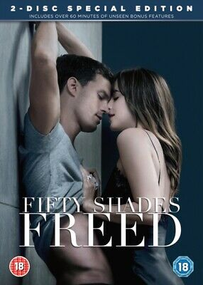 Fifty Shades Freed *NEW* DVD / with Digital Download