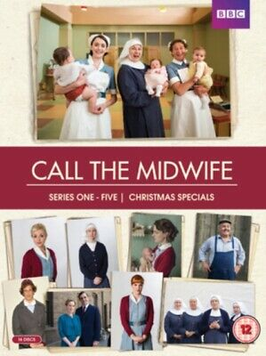 Call the Midwife: Series 1-5 *NEW* DVD / Box Set