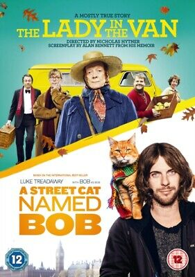 The Lady in the Van/A Street Cat Named Bob *NEW* DVD