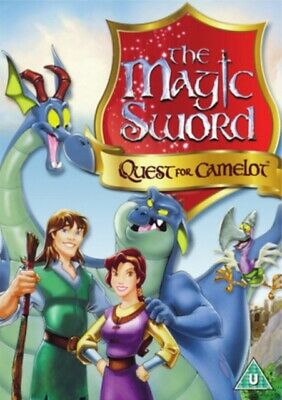 The Magic Sword - Quest for Camelot *NEW* DVD