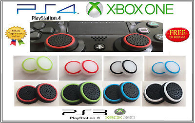 X2 Thumb Stick Cover Grip Caps Sony PS4 / XBOX ONE CONTROLLER PAD 360 PS3 PS2