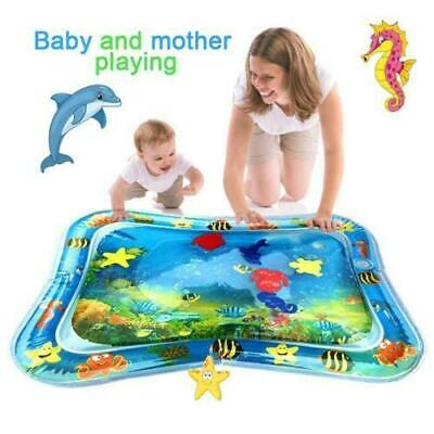 Inflatable Baby Water Play Mat Fun Activity Infants Toddlers Tummy Gift Toy