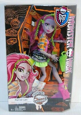 Monster High Monster Exchange Daughter of South American Bigfoot Marisol Coxi