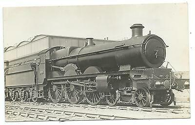 "GREAT WESTERN RAILWAY - Steam Loco no.4010 ""WESTERN STAR"" Real Photo Postcard"