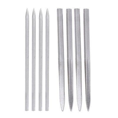 8pcs Stainless Steel Paracord Needles Weaving Stitching Lacing Fids Camping