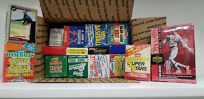 16 BASEBALL SETS LOT Sets from 80's and 90s Topps, Upper Deck, Fleer Score LOT C
