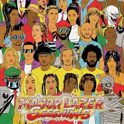 Major Lazer Essentials Sealed Coloured Vinyl 3Lp + 2Cd In Stock