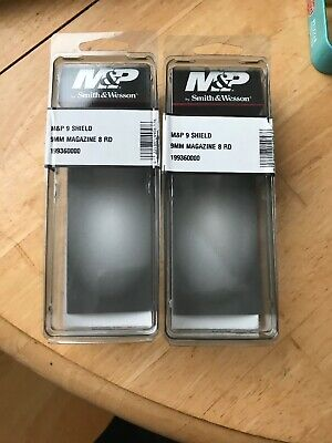 Smith & Wesson M&P Shield 9MM 8 Rnd Factory Mag Box 199360000 Empty Boxes Only!
