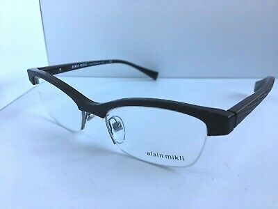 972184b4a322c New ALAIN MIKLI A 24030 2610 51mm Semi-Rimless Women s Eyeglasses Frame  Italy
