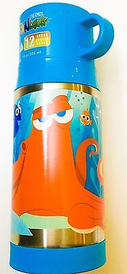 NEW! Disney Finding Dory Hank Nemo Thermos Funtainer Stainless Steel 12oz Cup