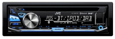 JVC KDDB97BTANT KD-DB97BT car media receiver Black 200 W Bluetooth 1-DIN CD