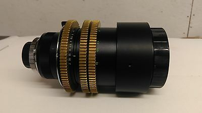 Used Computar 12.5-75mm/F1.2 Manual CCTV Zoom Lens with C-Mount & Brass Gears