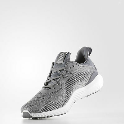 MENS ADIDAS ALPHABOUNCE HPC Grey Running Athletic Sport Shoes BY4327 ... e737096b1