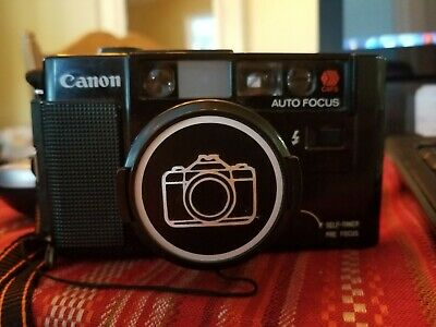 Canon 35mm  AF35M Camera with 2 Lenses