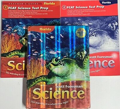 GRADE 5 SCOTT Foresman Science Curriculum Workbooks 5th Homeschool Bundle