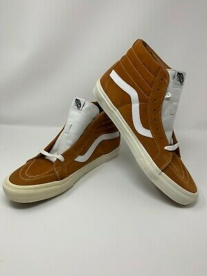 6d61cf22c9429a Vans Sk8-Hi Reissue Retro Sport Glazed Ginger Men s 13 Skate Shoes  VN0A2XSBOI4