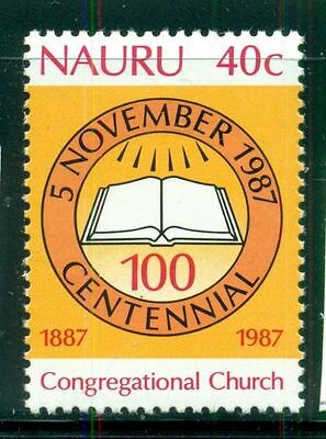 Nauru 1987 Congregational Church   MNH