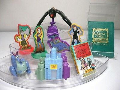 Wendys Quest for Camelot Fast Food Toy Complete Set Lot of 6 1998 Kayley Garrett