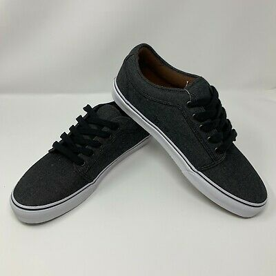 7666926b254b4a VANS CHUKKA LOW Denim Black Men s 13 Skate Shoes VN000ZUM282 ...