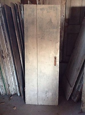 ANTIQUE DOOR NEW ENGLAND 18th CENTURY INTERIOR 2bd BATTEN