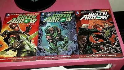 Green Arrow Volume 1, 2 and 3 - New 52 - TP - DC Comics - Graphic Novel Sale