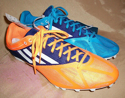 new product 92315 f97fb Adidas Spider 4 m MENS Size 13 Blue  Orange Track Shoes NO Spikes