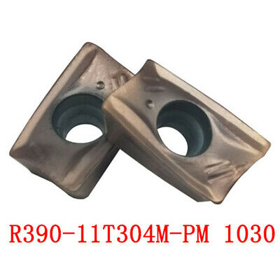 R390-170408M-PM 1130 Threading Carbide Inserts Cutting tool For Lathe CNC 10P
