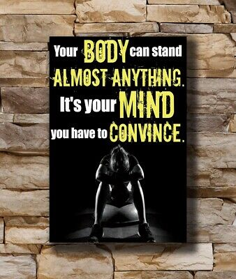 F-761 Fitness Bodybuilding Motivational Sports Quotes Hot Poster 36 27x40in Art