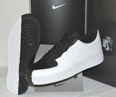 low priced 466bb f0474 New Nike Air Force 1 07 PRM Black-White Scarface One Premium Split Yin