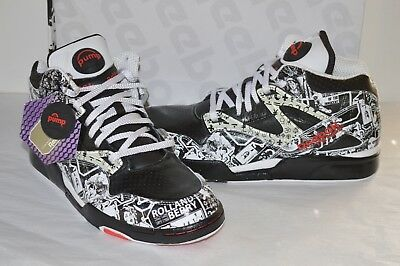 New Reebok The Pump Omni Lite Rolland Berry Anthracite White Red Grey Affili b7de1068d
