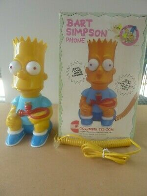 Bart Simpson Telephone - In Original Box - Excellent Working Condition