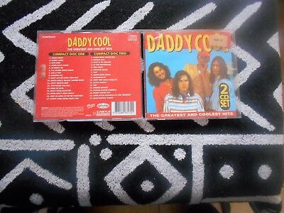 Daddy Cool - The Greatest And Coolest Hits - 2 Cd - Ross Wilson,Mondo Rock Rare