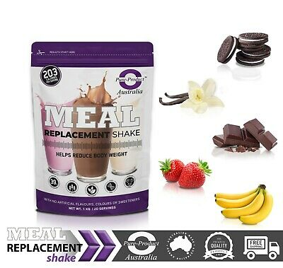 Meal Replacement - Weight Loss Shake - Whey - Chocolate -1kg Pure Product AU