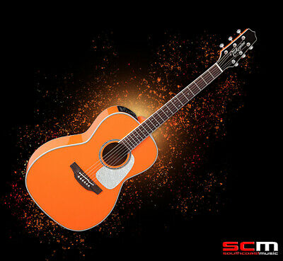Takamine New Yorker Acoustic Electric Guitar TCP3NYOR Custom Pro 3 Series w/case