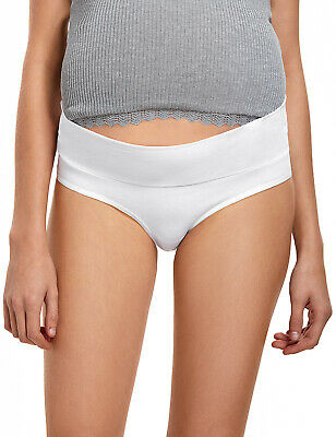 Women's  2 Pack Cotton Maternity Underwear Pregnancy Brief Panties