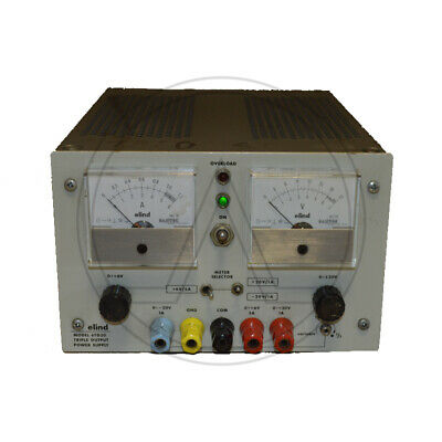 Elind 6Td20A - Triple Power Supply +6V/5A; +20V/1A; -20V/1A