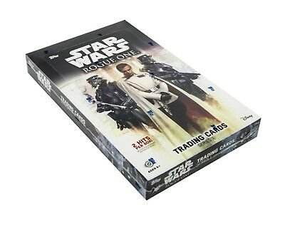 star wars trading cards box Star Wars Rogue One Series 1 Hobby Box (Topps 2016)