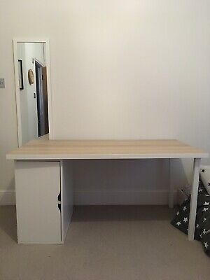 Linnmon Alex Ikea Desk 2350 Picclick Uk