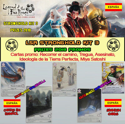 LEGEND OF THE FIVE RINGS LCG - Promos Spanish 2018 Stronghold Kit Season 3