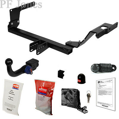 Witter Towbar for Toyota Yaris Hatchback (Facelift) 2014 On - Detachable Tow Bar