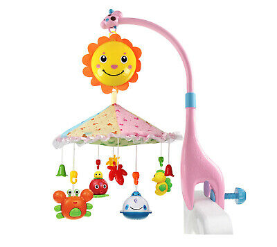 Sunny Genny Giraffe Multifunctional Infant Mobile for Crib,Music Cot Toy New