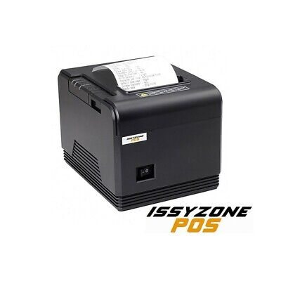 Stampante Termica 80Mm Issyzonepos Usb Seriale Rs232 Lan Ethernet Nuova Cassa.