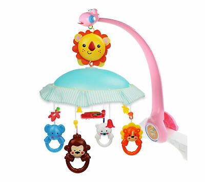 Sunny Gary Giraffe Infant Mobile for Crib,Musical Crib Toys Baby Kids Mobile