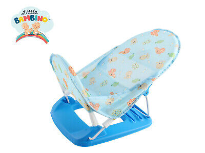 Little Bambino Bath Chair Blue Infant Deluxe Baby Bather