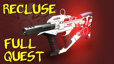 [PS4] Destiny 2 THE RECLUSE SMG FULL Quest COMPLETION [GUARANTEED]