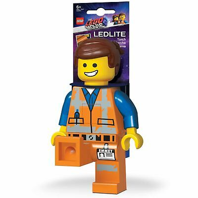 OFFICIAL LEGO MOVIE 2 EMMET TORCH 21cm - LED BEDSIGHT LIGHT WITH ANGLING LEGS