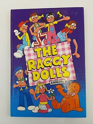 The Raggy Dolls 1991 Annual Marvel Book TV Cartoon UK Unclipped 90s Retro