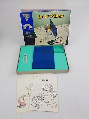 My Little Pony Look 'N' Draw Creative Play BHS Copy and Colour Kids Girls 80s