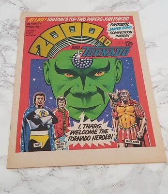 2000 AD and TORNADO Comic August 1979 1st Issue First One UK Book